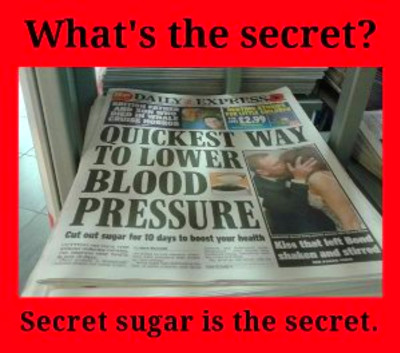 Sugar and High Blood Pressure: Watch the White Stuff!