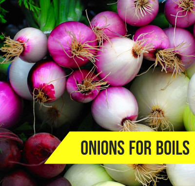 How To Get Rid OF Boils With Onion: 7 Natural Remedies