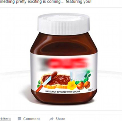 Nutella personalised labels campaign backfires with ...