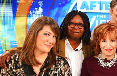 was Whoopi Goldberg fired from the view