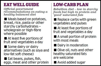 Diabetes patients defy the NHS over guidelines diet that ...