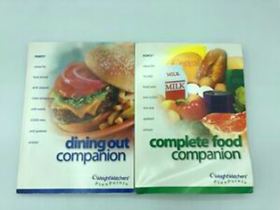 WEIGHT WATCHERS WW 2003 Flex Points COMPLETE FOOD DINING ...