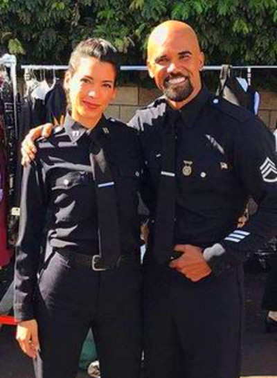 Alex Russell, Stephanie Sigman, Shemar Moore, Jay ...