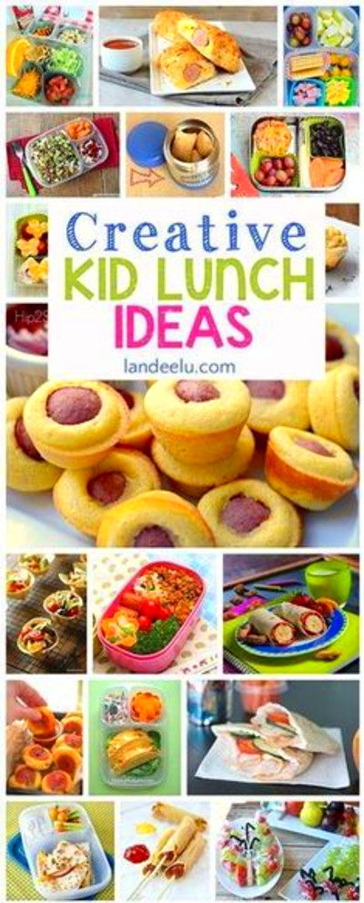 Back-to-School Lunch Ideas | Healthy meals | Pinterest ...