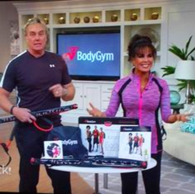Marie Osmond and Steve Craig at QVC with the BodyGym ...