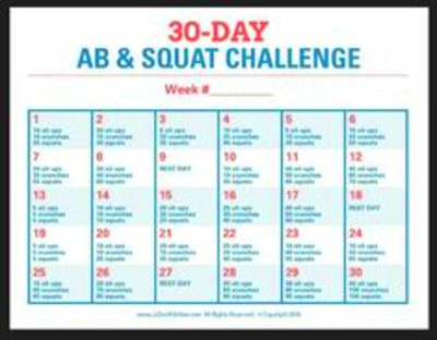 JJ's 30-Day Abs Challenge. JJSmith. JJ Smith. | Jj smith ...