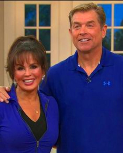 Steve Craig and Marie Osmond at QVC with the BodyGym ...