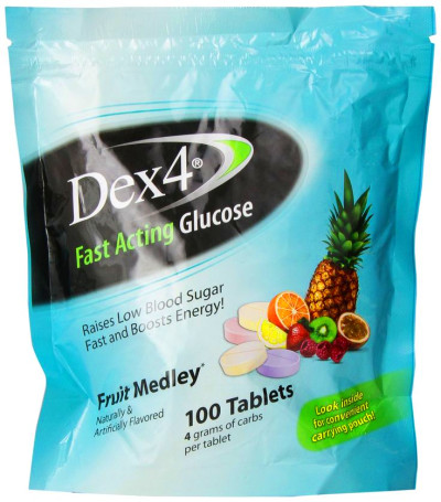 Dex4 Glucose Tablets, Fruit Medley, 100 Count | My ...