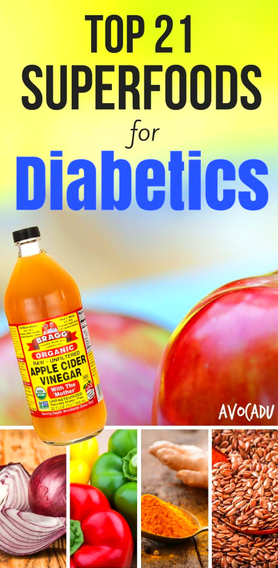 Top 21 Superfoods for Diabetics | Good foods for diabetics ...