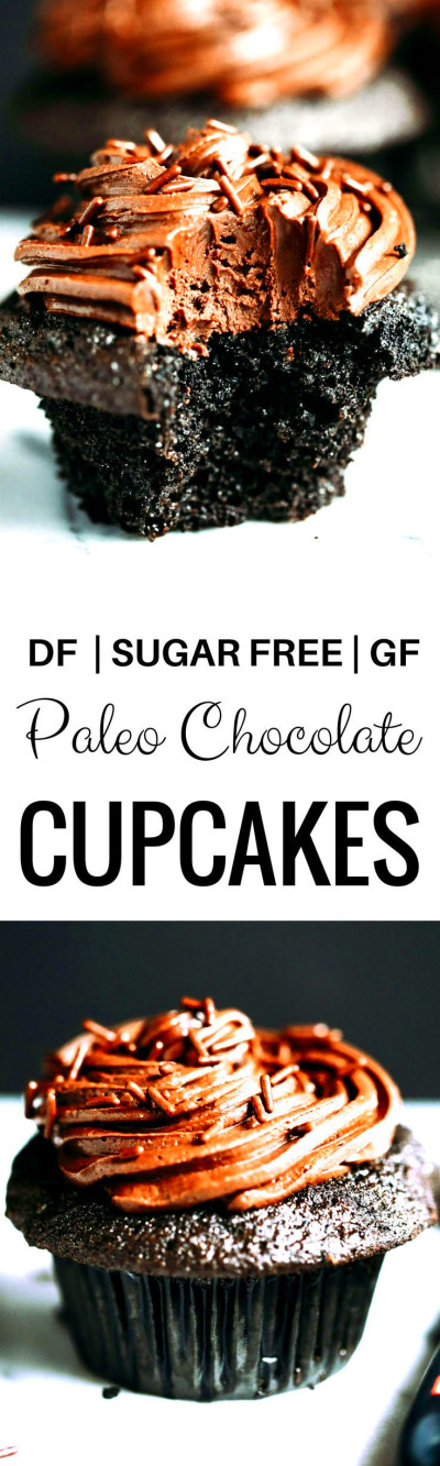 Paleo Coconut Flour Chocolate Cupcakes | Recipe | Healthy ...