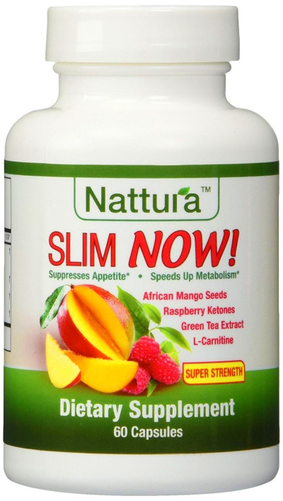 SLIM NOW! - Weight Loss Supplement With African Mango Seed ...
