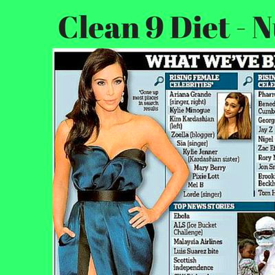 50 best C9 (clean 9) - Nutritional cleansing programme ...