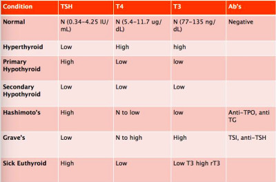 Normal Thyroid Lab TSH Levels Chart * Visit the image link ...