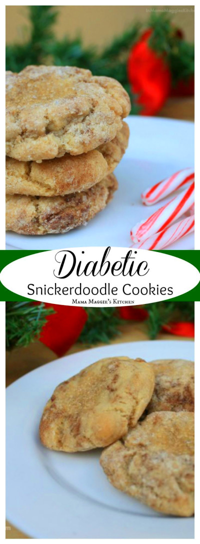 Diabetic Snickerdoodle Cookies - low carb and delicious ...
