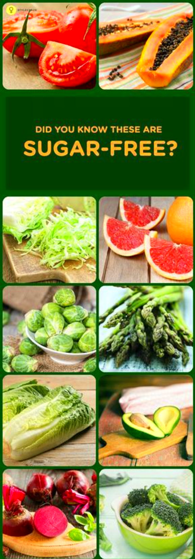 10 Sugar Free Fruits And Vegetables | Diabetic snacks | Sugar free fruits, Healthy detox, Sugar ...