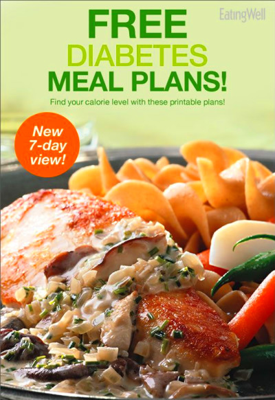 The Best 7-Day Diabetes Meal Plan | Diabetic meal plan ...