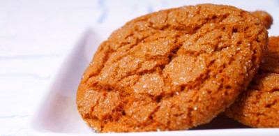 Becel | Crackle-Top Gingerbread Date Cookies | Cookies ...