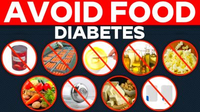 DANGEROUS FOODS FOR DIABETIC PATIENTS || Health Tips | Diabetes Control | Food for diabetic ...