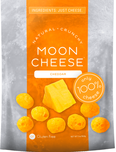Cheddar Moon Cheese Just cheese. High protein snack that ...