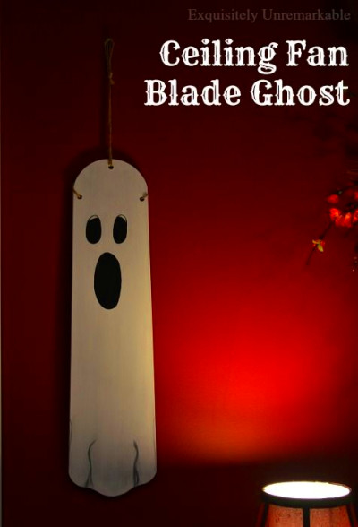 Ceiling Fan Blade Halloween Ghost and Pumpkin | Ceiling ...