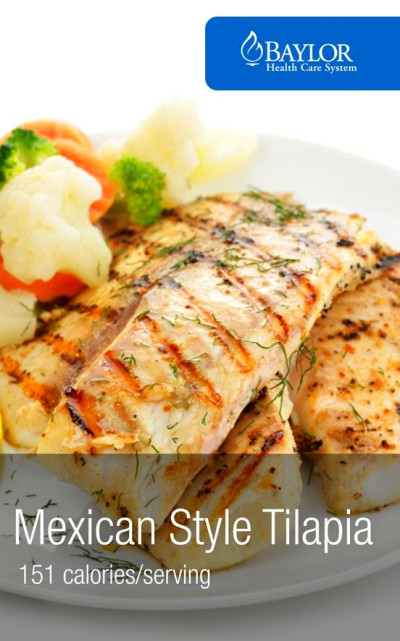 Mexican Style Tilapia - An easy and healthy recipe with a ...