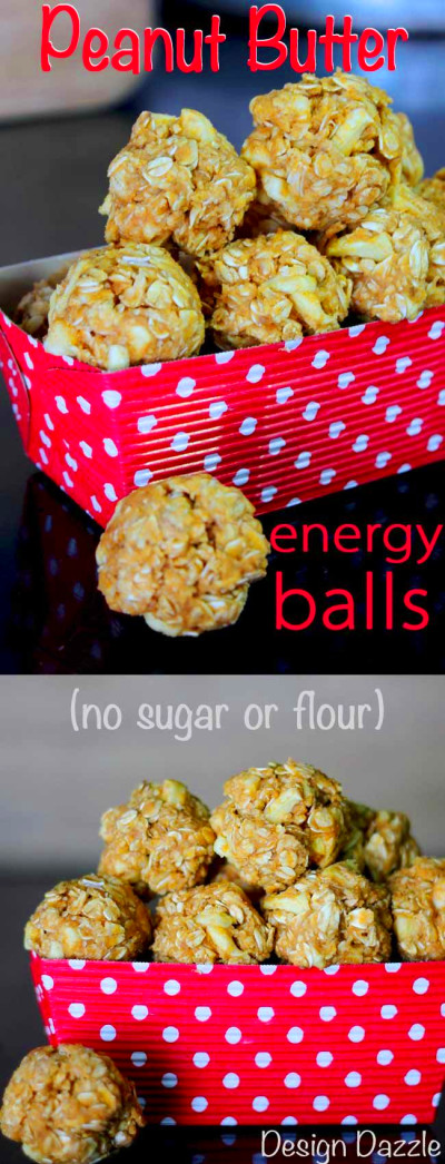 Peanut Butter Oatmeal Energy Balls | Recipe | Healthy protein snacks, Healthy snacks for ...