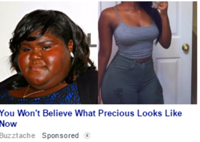 You Won't Believe What Precious Looks Line Now | The exact same : savedyouaclick