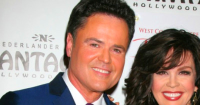 Donny and Marie Osmond share some cheeky sibling rivalry ...