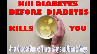 kill diabetes forever in 8 days easy and faster - YouTube