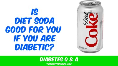Does Diet Soda Help Your Diabetes - YouTube