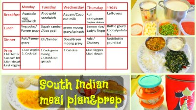 South Indian Meal Plan & Prep|| What we eat in a week(Indian diet plan) - YouTube