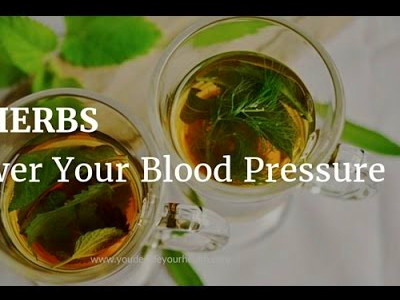 7 Herbs That Lower Your Blood Pressure Naturally - YouTube