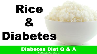 Is Rice Good For Diabetes - YouTube