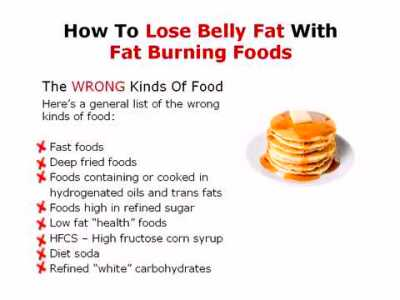 How To Lose Belly Fat With Fat Burning Foods - YouTube