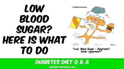 How To Treat Low Blood Sugar (Diabetes Type 2) - YouTube