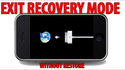 How to EXIT RECOVERY MODE without RESTORE - iPhone, iPad ...