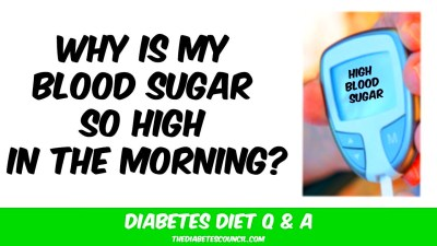 Why is My Blood Sugar So High In The Morning - YouTube