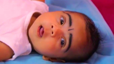 3 month old baby activities | Rithu in three month - YouTube