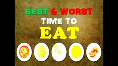 Best And Worst Time To Eat Food @ Rohan Lazarus - YouTube