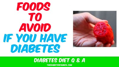 Diabetes - Foods to Avoid: List of Foods To Avoid if You ...