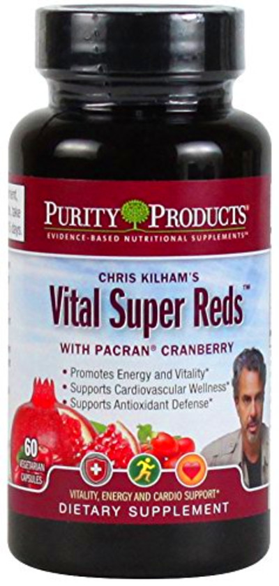 Purity Products - Vital Super Reds - 60 Veg Capsules ...
