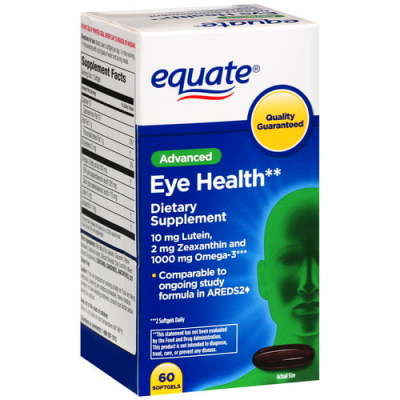 Equate Advanced Eye Health Dietary Supplement, 60ct - Walmart.com