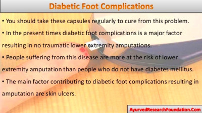 Diabetic Foot Complications, Foot Ulcers and Problems