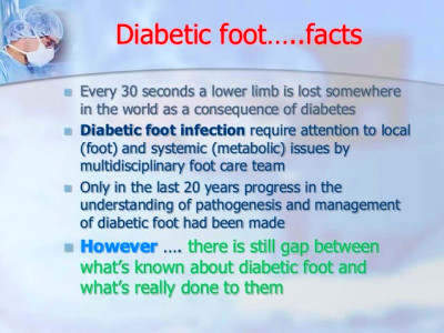 Approach to diabetic foot