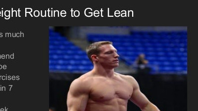How To Get A Gymnast Body: Look Lean Using Just Your Bodyweight