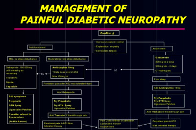 Management of Painful diabetic neuropathy - Exeter guidelines