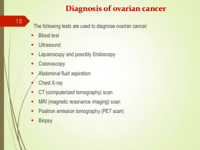 Ovarian cancer ppt