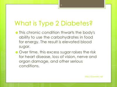 Type 2 Diabetes Learn the Warning Signs
