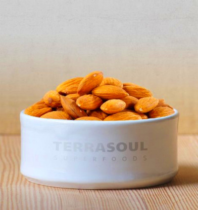 Terrasoul Superfoods Raw Unpasteurized Organic Almonds ...