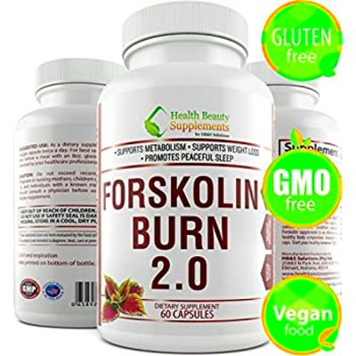 Amazon.com: Forskolin Super Max 500mg Coleus Forskohlii ...